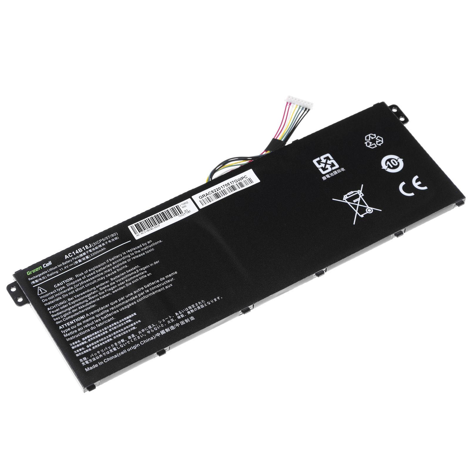 11.4V Acer Aspire ES1-731 ES1-731G AC14B18JErsatz Akku