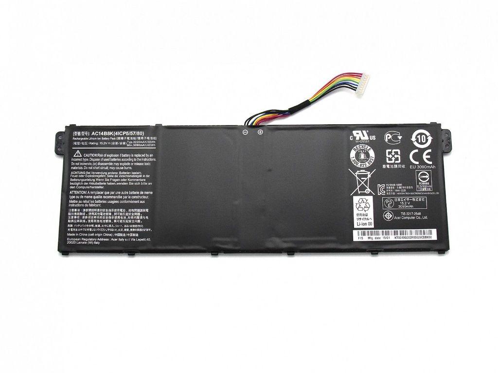 Acer Aspire V3-371 V3-111 E5-771G TravelMate P276 B115-M AC14B8K Ersatz Akku