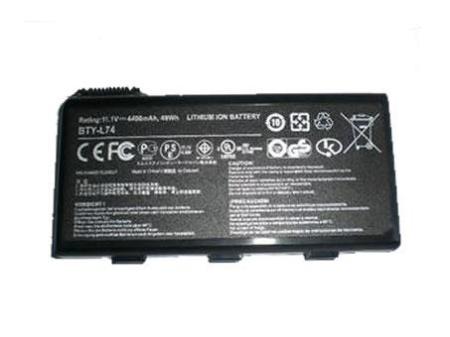 MSI BTY-L74 91NMS17LF6SU1,957-173XXP-101,957-173XXP-102 Ersatz Akku